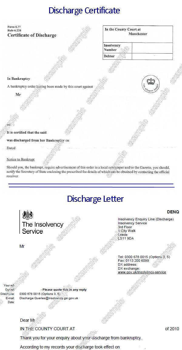 Bankruptcy Discharge Letter Erkalnathandedecker