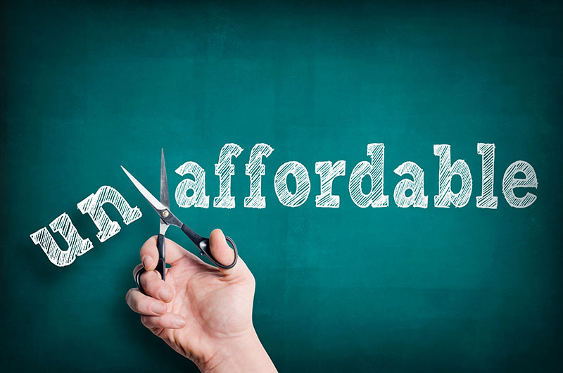 Mortgage Application been declined Affordability